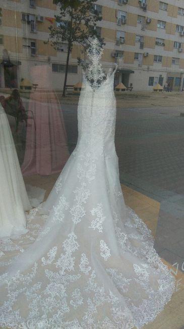 sentimiento agridulce con un vestido. - moda nupcial - foro bodas