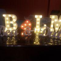 Letras preciosas para la boda - 1