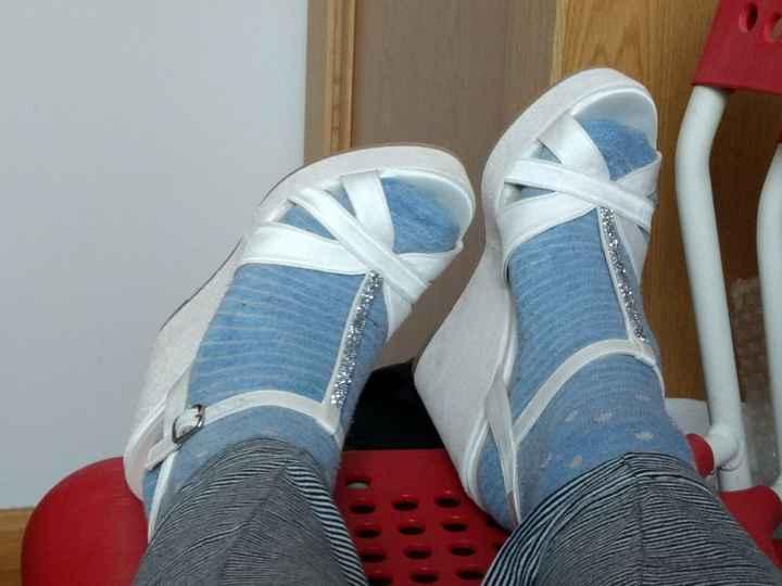 Dando de si, el calzado de novia jaja - 1