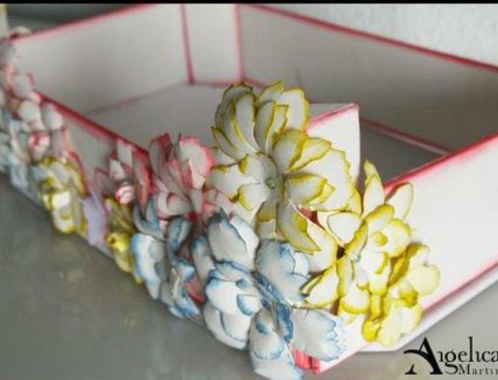 Cajas de frutas decoradas Manualidades Foro Bodasnet