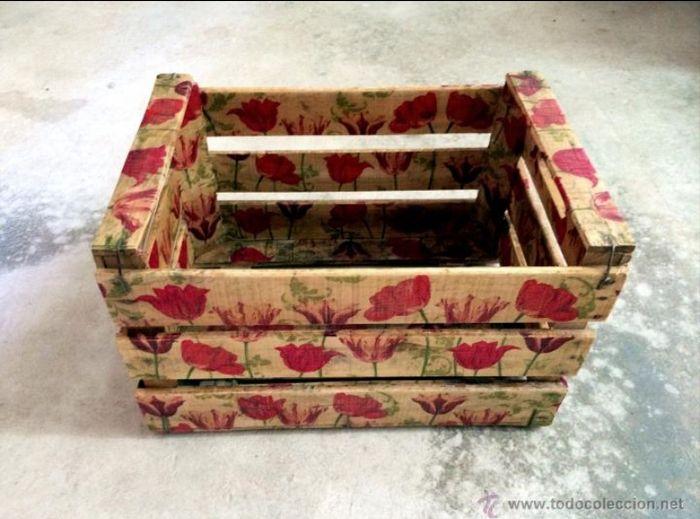 caja de fruta decoradas - Cajas De Frutas Decoradas