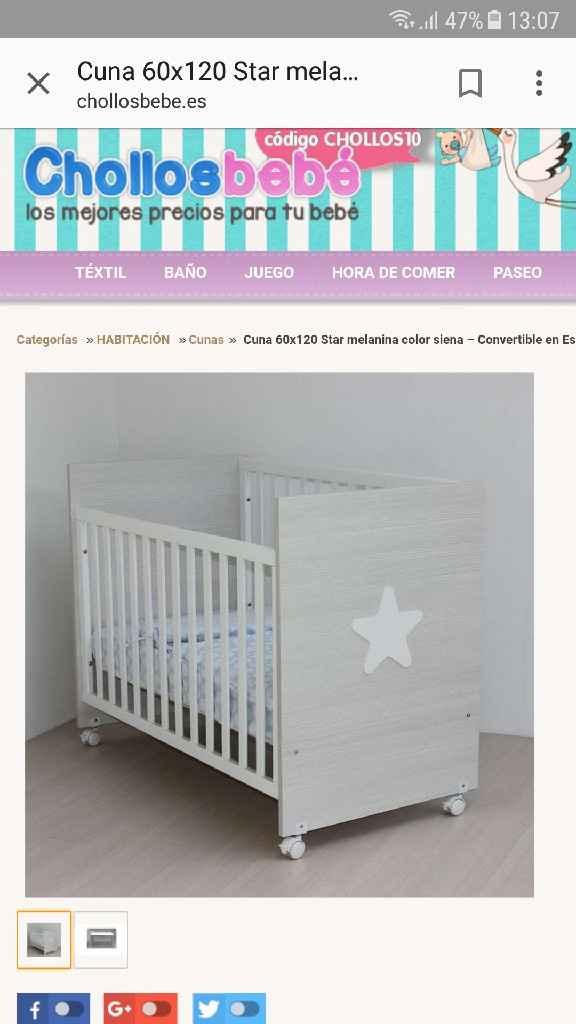 Cuna cunitas Carrefour - 1
