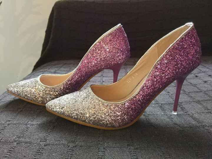 Por fin llegaron mis zapatos brilli brilli!! 👠🎆 - 1