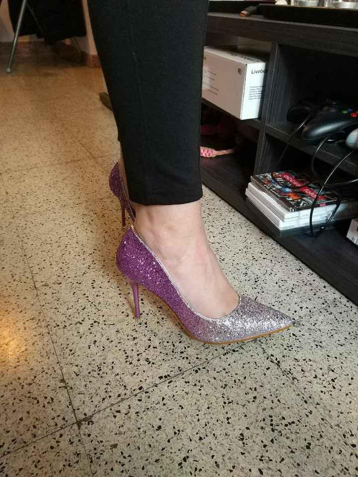 Por fin llegaron mis zapatos brilli brilli!! 👠🎆 - 2