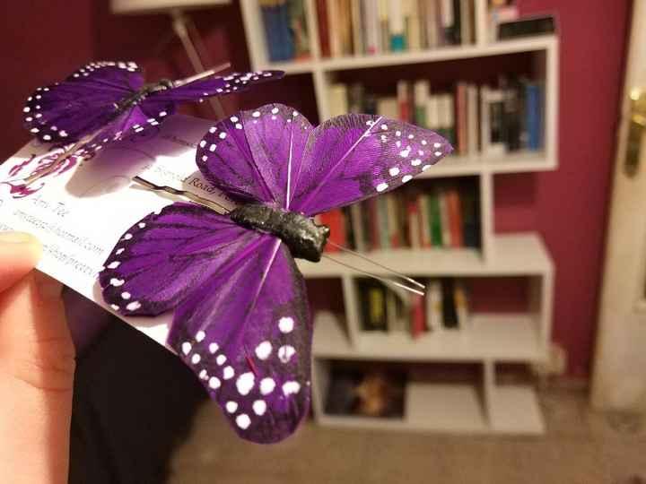 Clips Mariposa para el recogido