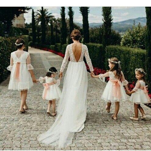 vestido o trajes para tus hijos o pajes de boda - antes de la boda