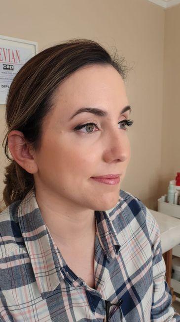 Mis pruebas de maquillaje y peluquería - 1