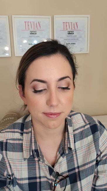Mis pruebas de maquillaje y peluquería - 3