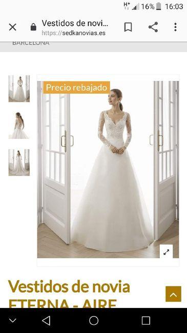 Vestido novia -500€ 5