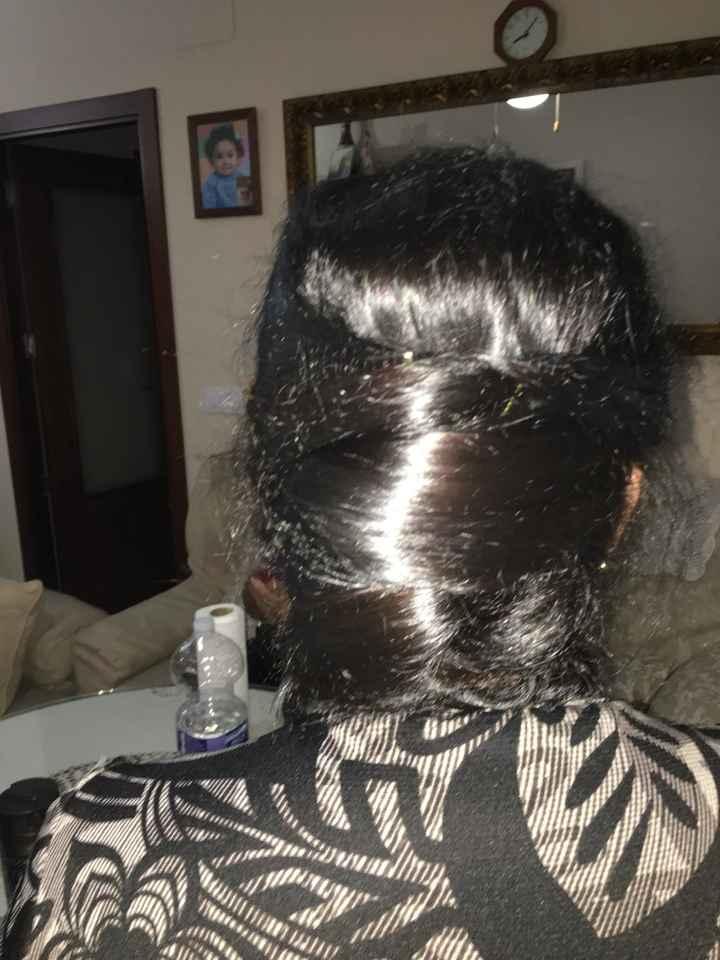 Peinado madre de la novia. - 1