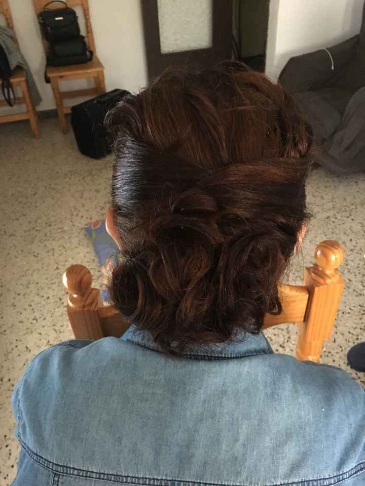 Peinado madre de la novia. - 2