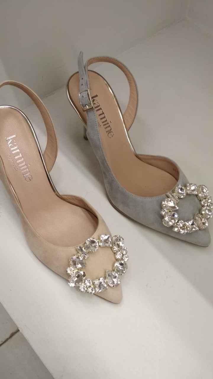 Zapatos joya azules - 1