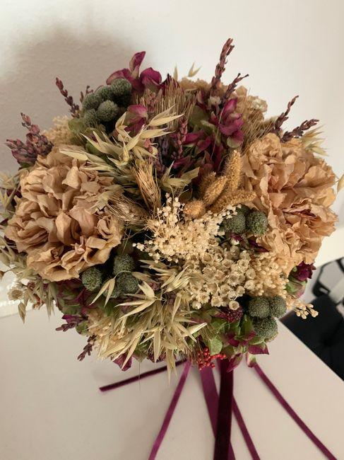 Ramo de novia con flores preservadas ¿sí o no? 1