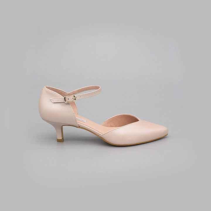 Zapatos novia talla 35 - tacón bajo/medio - 2