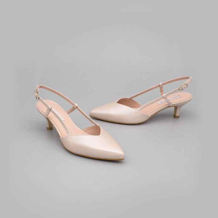 Zapatos novia talla 35 - tacón bajo/medio - 4
