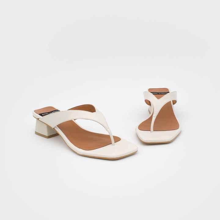 Zapatos novia talla 35 - tacón bajo/medio - 5