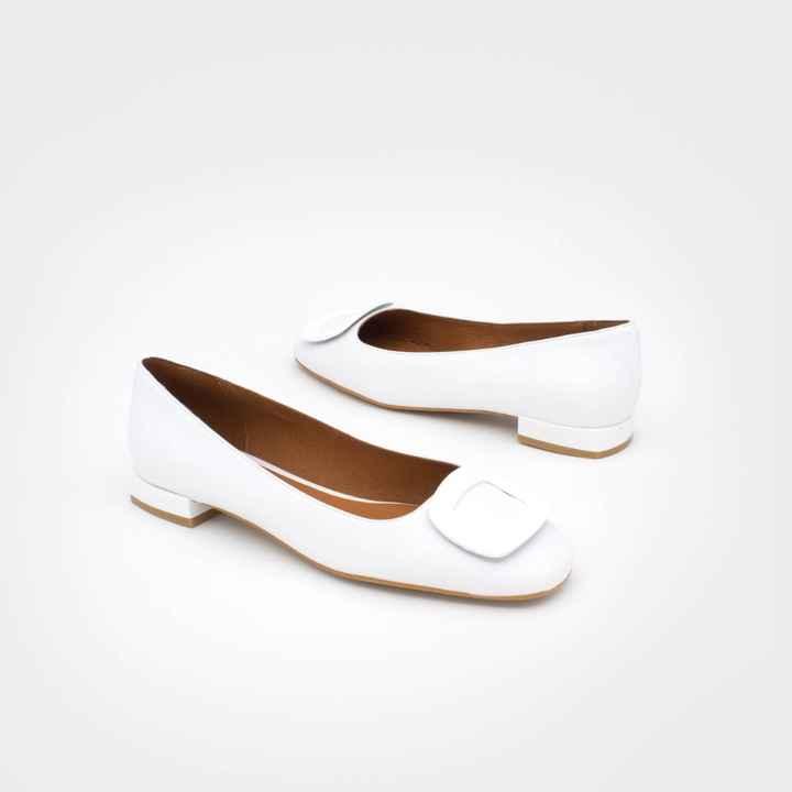 Zapatos novia talla 35 - tacón bajo/medio - 6