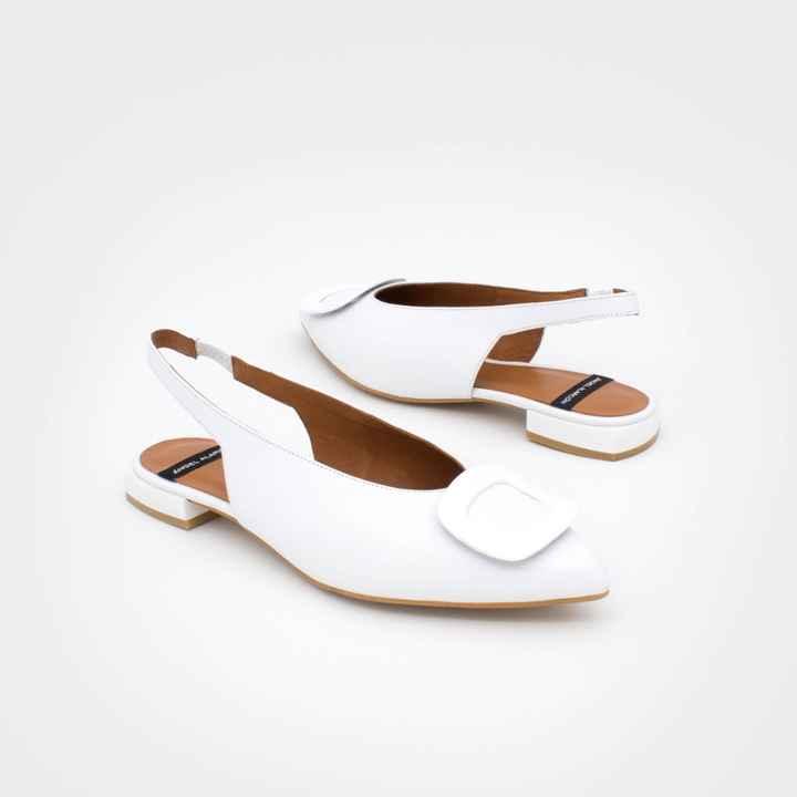 Zapatos novia talla 35 - tacón bajo/medio - 7