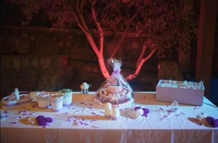 Nuestra mesa de chuches - 1