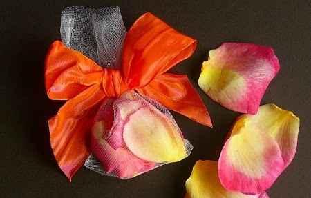saquitos de petalos de rosas