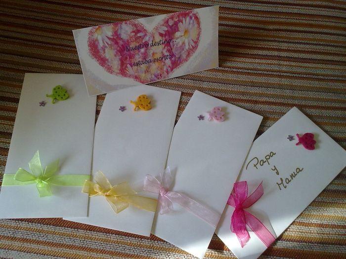 como puedo hacer los sobres de mis invitaciones