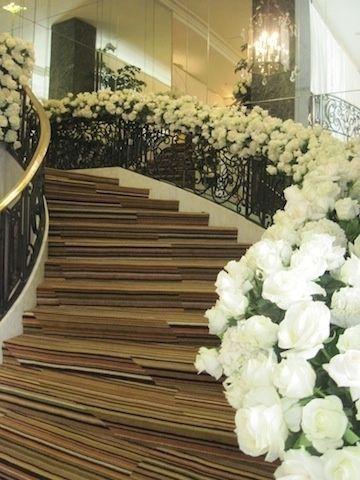 Escaleras Decoradas Para Boda