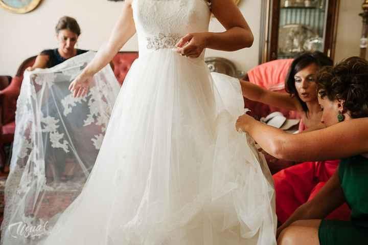 A bridesmaid's nightmare