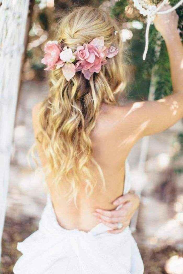 El peinado dice mucho de una novia