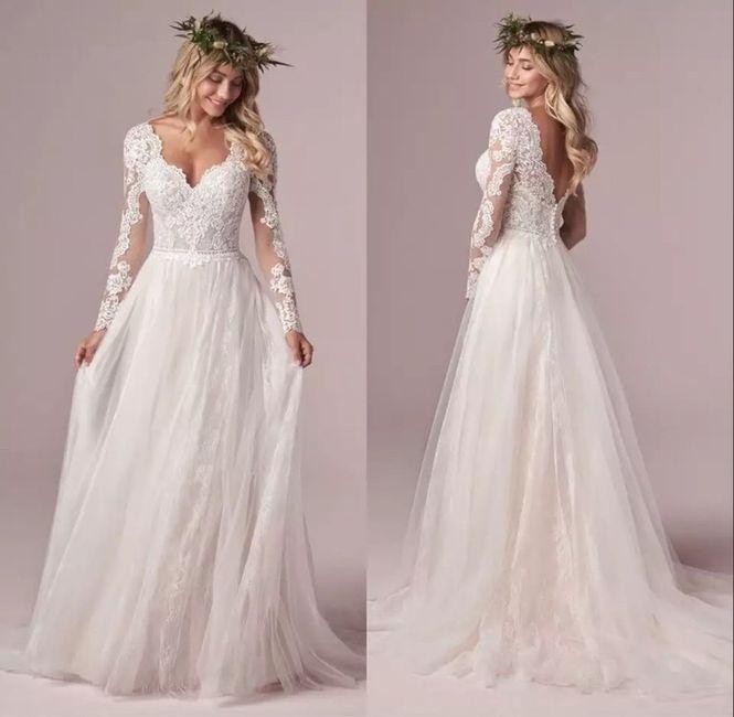 Dudas para elegir el vestido de novia 1