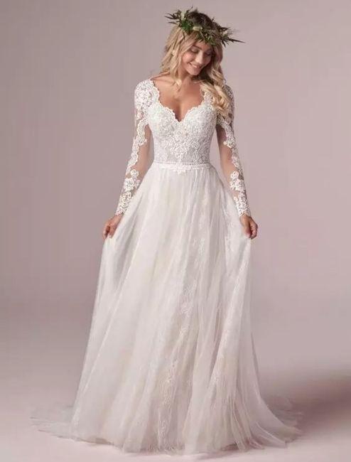 Dudas para elegir el vestido de novia 2