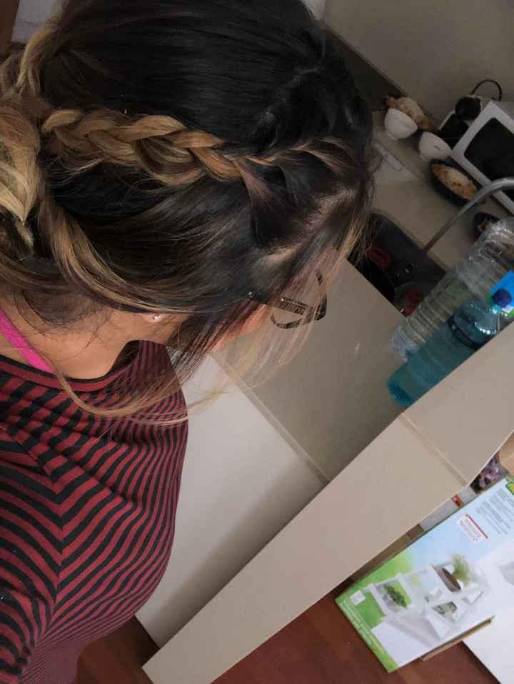 Mi maquillaje y peinado - 2