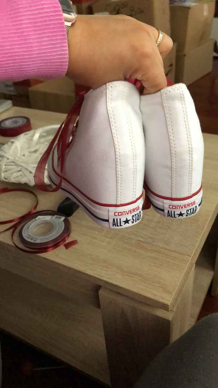 Zapatos acabados. - 2