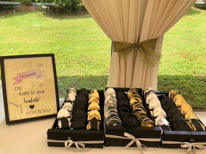 La decoración de mi boda (viajera) 17