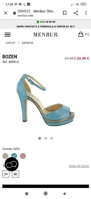 ¿De qué color serán vuestros zapatos? 10