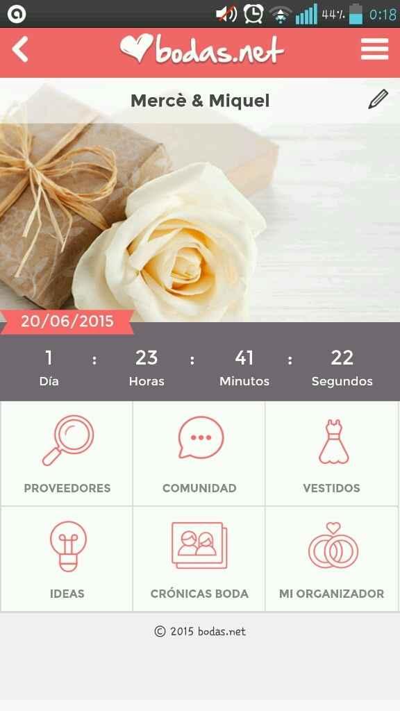 A 3 dias de la boda! - 1
