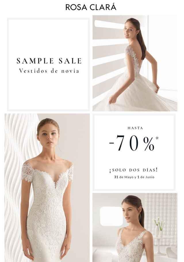 Sample Sale Rosa Clara - 1