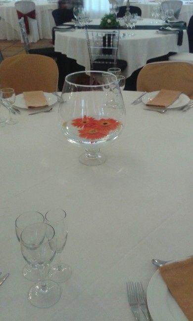 Centro de mesa copa
