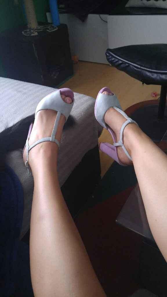 Ramo, tocado, velo y zapatos - 2