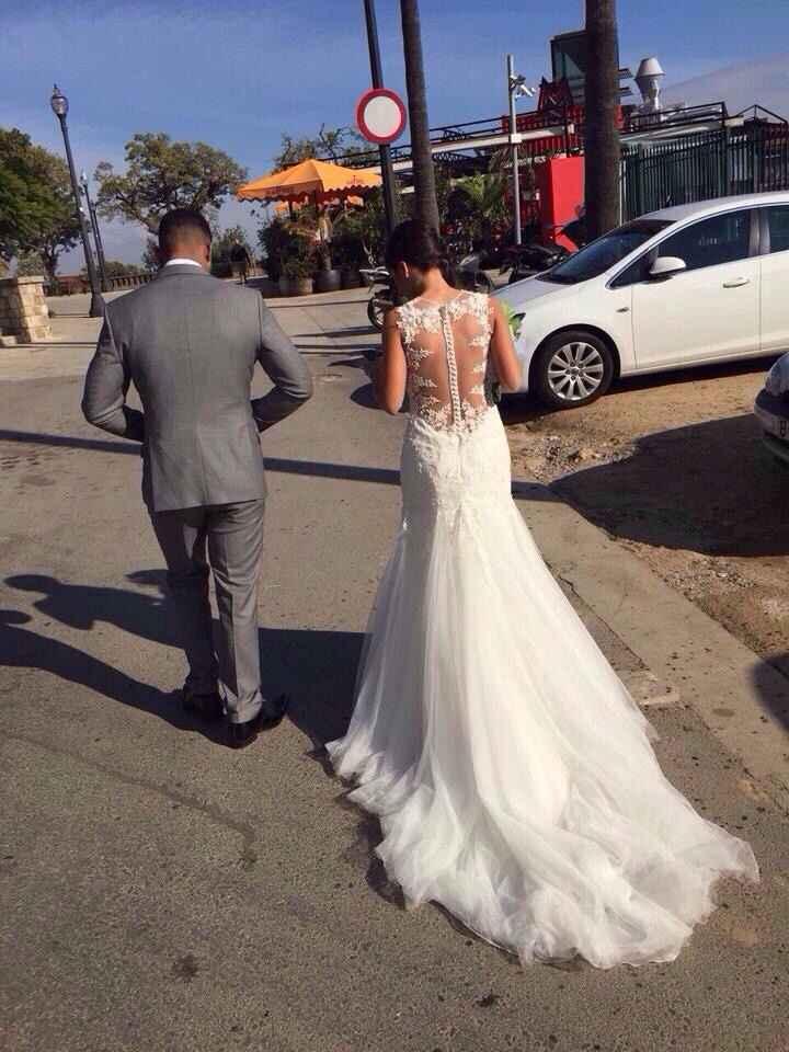 Vendo mi vestido demetrios 2015 - 2