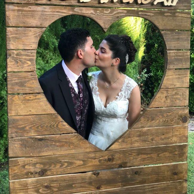 Finalmente casados en los tiempos de Covid!! 7
