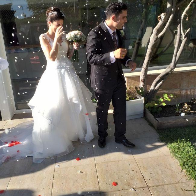Finalmente casados en los tiempos de Covid!! 6