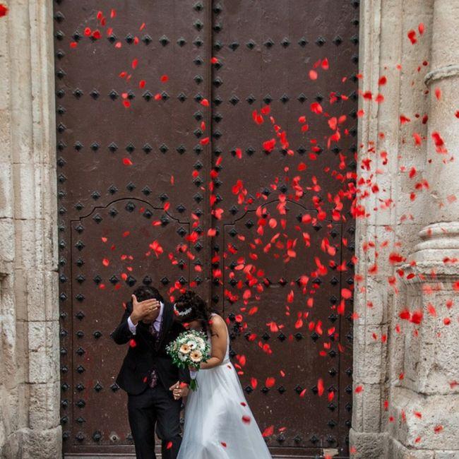 Finalmente casados en los tiempos de Covid!! 8
