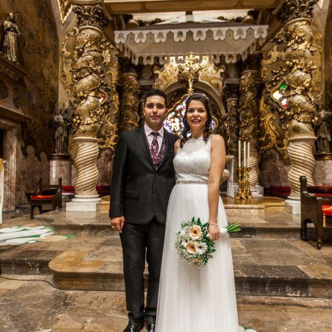 Finalmente casados en los tiempos de Covid!! 10