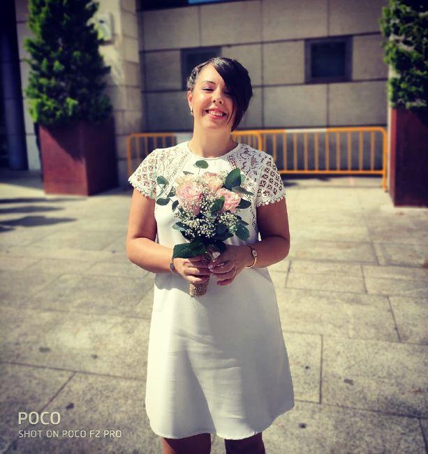 Día de la firma... y legalmente casados!! 1