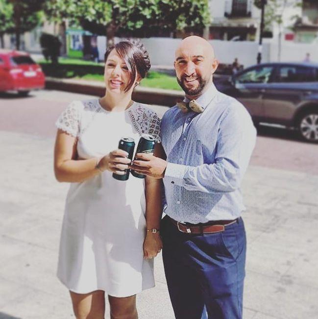 Día de la firma... y legalmente casados!! 2