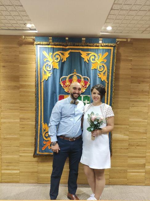 Día de la firma... y legalmente casados!! 3