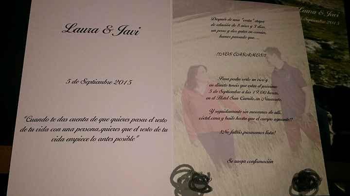 Invitaciones de boda por internet? - 2