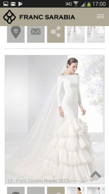 89b9bae75 Precios vestidos franc sarabia - Moda nupcial - Foro Bodas.net