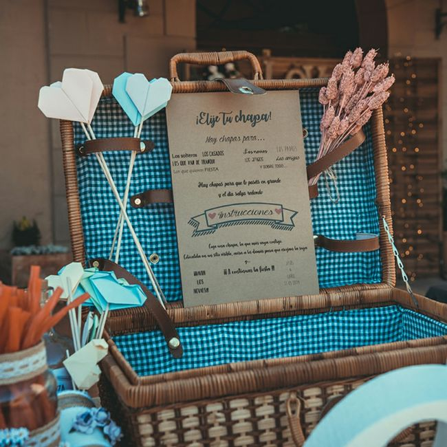 Regalos y decoración para boda 14