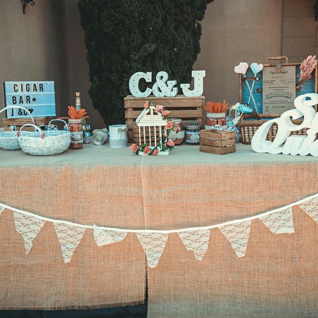 Regalos y decoración para boda 15